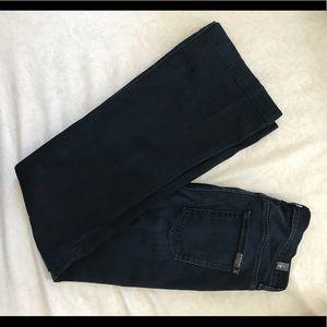 High Waist Slim Trouser Denim sz 29